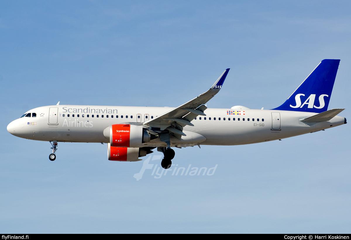 EI-SID - Airbus A320-251N - Scandinavian Airlines - SAS (SAS Ireland) (19.03.2018) - FlyFinland.fi
